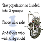 those who ride and those who wish they could t-shirt design