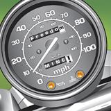 freedom mine motorcycle speedometer t-shirt design